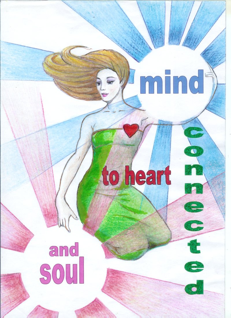 Mind connected to heart and soul